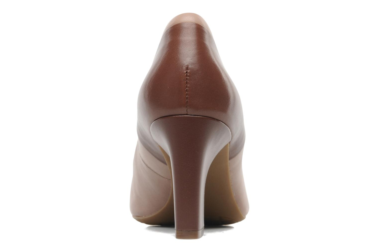 Sto7H75 Color Block Pump Taupe/marron